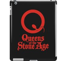 Queen of the stone age iPad Case/Skin