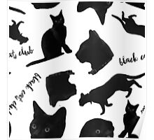 Black Cat Club - Henry Tile Poster