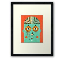 Brainy Framed Print