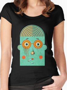Brainy Women's Fitted Scoop T-Shirt