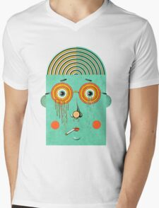 Brainy Mens V-Neck T-Shirt