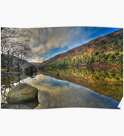 Glendalough Upper Lake Poster