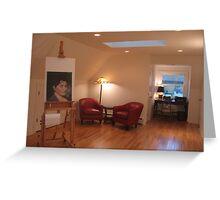 Studio looking South Greeting Card