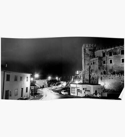 Nocturnal Landscape Poster