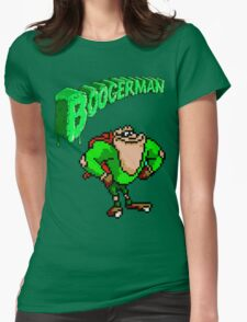 Boogerman Womens Fitted T-Shirt