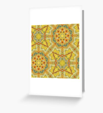 Dancing Spheres Greeting Card