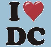 I Heart / Love DC by HighDesign
