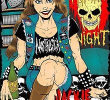 Jackie Anselmo - Headbanger Chick by Luke Kegley