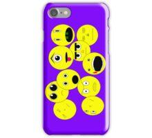 Emoticons iPhone Case/Skin