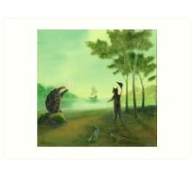 The Discontented Shore Art Print