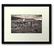 Disused Croft House Framed Print