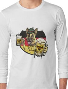 Oktoberfest German Beer Hound Long Sleeve T-Shirt