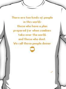 Zombie Plan T-Shirt