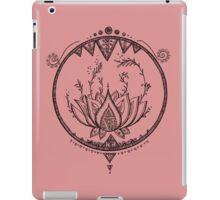 Lotus iPad Case/Skin