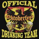 Oktoberfest German Beer Emblem by MudgeStudios