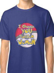 Random Woman Pokeball Classic T-Shirt