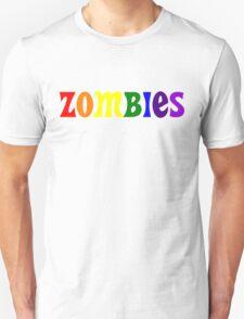 ZOMBIES Rainbow T-Shirt