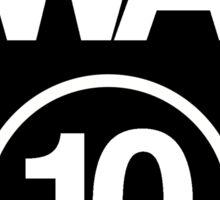 Washington 10 Sticker