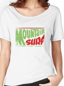 Mountain Surf Logo Women's Relaxed Fit T-Shirt