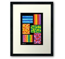 MINI ABSTRACT Framed Print