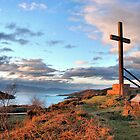Highland Cross - Morar by Cat Perkinton