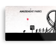 99 Steps of Progress - Amusement parks Metal Print