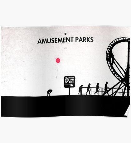 99 Steps of Progress - Amusement parks Poster