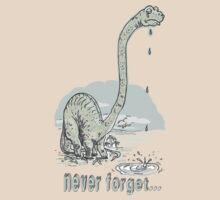 Never Forget Dinosaur 2 by MudgeStudios