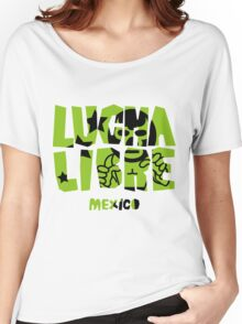 LUCHA LIBRE mexico Women's Relaxed Fit T-Shirt