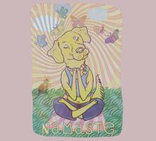 Namaste Dog by MudgeStudios