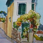 Postcard from Fiesole, Italy by Terri Maddock