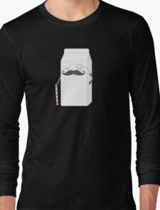 sir milk moustache Long Sleeve T-Shirt