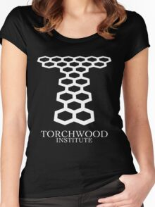 Torchwood Women's Fitted Scoop T-Shirt
