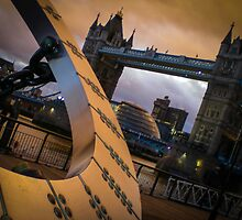 Tower and Dial by ian  dawson
