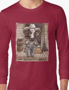 Funny Cow Boy Long Sleeve T-Shirt