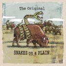 Original Snakes on a Plain by MudgeStudios