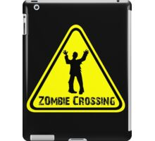 Zombies! Zombie Crossing iPad Case/Skin