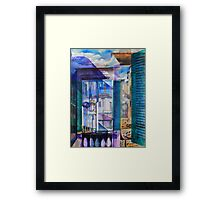 Untitled 9 - (città Toscana) Framed Print