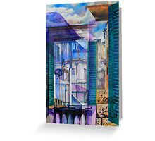 Untitled 9 - (città Toscana) Greeting Card