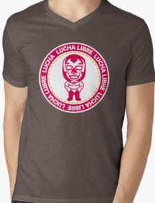 Luchador05 Mens V-Neck T-Shirt