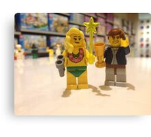 LEGO people Canvas Print