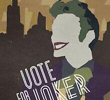 Vote For Joker by hispurplegloves
