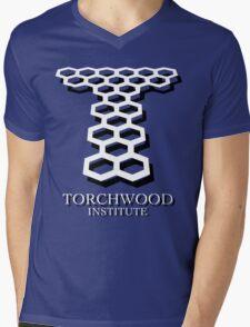 Torchwood Mens V-Neck T-Shirt
