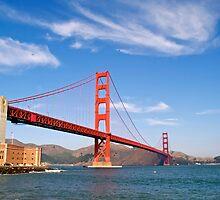 The Golden Gate Bridge by Alex Cassels