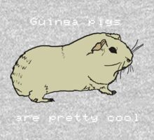 Guinea pigs are pretty cool. by John King III