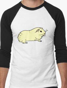 Guinea pigs are pretty cool. Men's Baseball ¾ T-Shirt