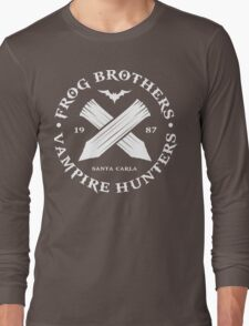 The Lost Boys - Frog Brothers Bros Vampire Hunters Long Sleeve T-Shirt