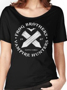The Lost Boys - Frog Brothers Bros Vampire Hunters Women's Relaxed Fit T-Shirt