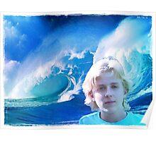 ~ Ocean Blue ~ Poster