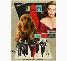 English Cocker Spaniel Art - All About Eve Movie Poster Unisex T-Shirt